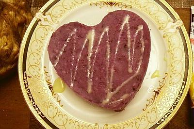 山药紫薯糕:当紫薯遇到山药,也是美翻啦