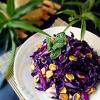 素食之— —清炒紫甘蓝的做法图解6