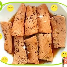 黑椒酱汁三文鱼