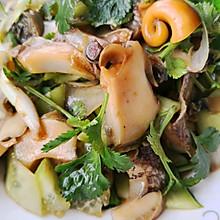 凉拌海螺肉