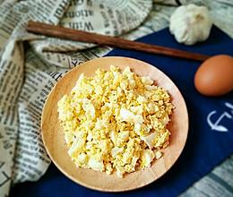 蒜拌鸡蛋的做法