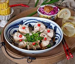 清蒸孔雀开屏鲈鱼#颜值美食,越吃越享瘦#的做法