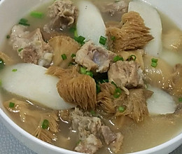 猴头菇山药排骨汤的做法