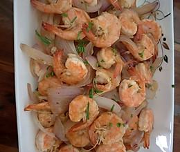 虾仁与洋葱的做法