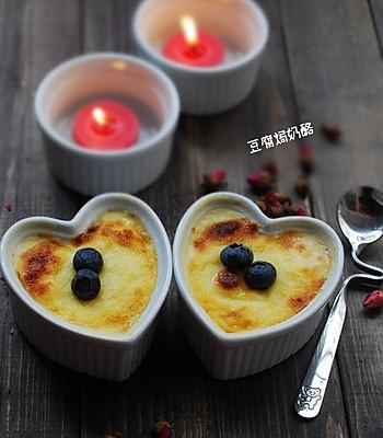情人节甜点【豆腐焗奶酪】