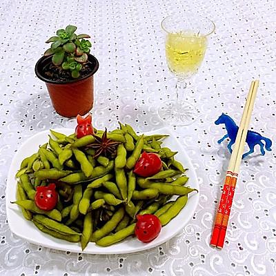 五香毛豆—我的品道美食