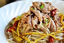香辣酸汤肥牛米线的做法