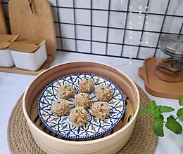 珍珠猪肉糯米丸子——鲜香美味好吃不油腻的做法
