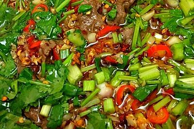 水煮牛肉(適合廣東人口味)