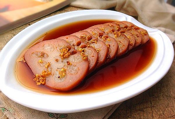桂花糯米藕---整个冬天甜甜蜜蜜的做法