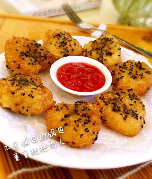 剩饭也能高大上-脆香炸米饼的做法