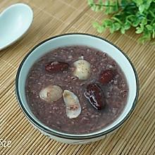 【养生粥】桂圆红枣紫米粥