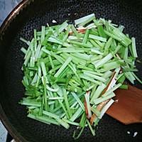 香芹炒豆干#花10分钟,做一道菜!#的做法图解7