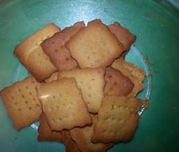 低脂低糖全麦饼干的做法