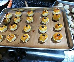 蛋黄酥→超级酥配方的做法