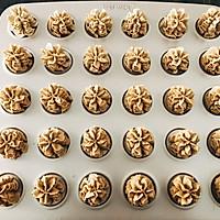 网红香港珍妮小熊曲奇 咖啡小花云顶曲奇饼干 咖啡伴侣下午茶的做法图解14