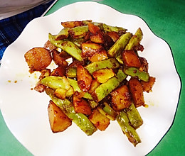 农家菜芸豆炖土豆(超级简单好吃)的做法