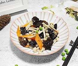 小炒海鲜菇的做法