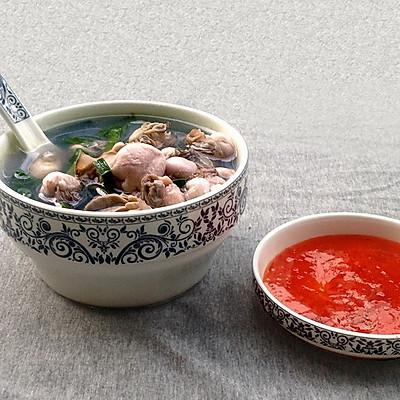 牡蛎韭菜汤