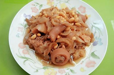 萝卜干黄豆猪尾煲
