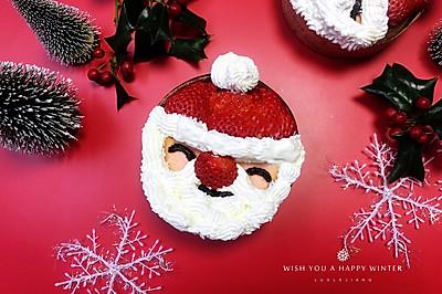 圣誕老人杯子蛋糕