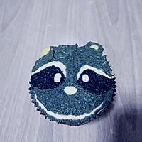 小浣熊立体彩绘杯蛋糕的做法图解16