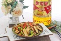 提升抵抗力的快手菜,蒜苔炒豆干的做法
