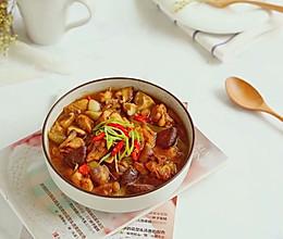 香菇滑鸡,让你远离油烟的美味蒸菜的做法