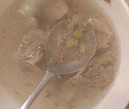 清炖腔骨汤的做法