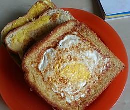 芝士鸡蛋面包片的做法