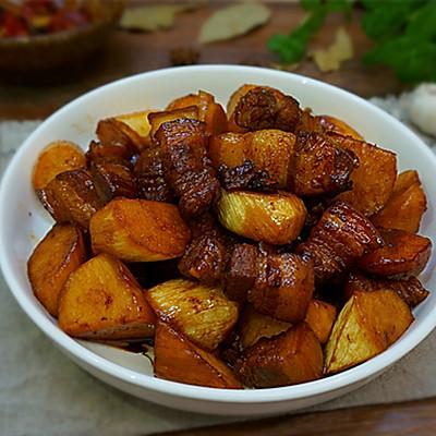 茭白红烧肉----肥而不腻应季菜