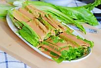 麻酱拌油麦菜的做法
