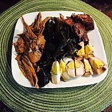 最棒卤味—卤牛肉,卤蛋,卤菜+红烧牛肉面