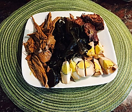 最棒卤味—卤牛肉,卤蛋,卤菜+红烧牛肉面的做法