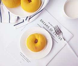 南瓜面包圈#安佳黑科技易涂抹软黄油#的做法
