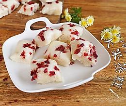 大米做成蒸糕,松软香甜易消化~的做法
