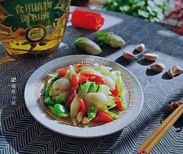 #橄榄中国味 感恩添美味#儿菜炒百合的做法