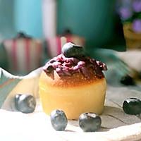 蓝莓乳酪夹心小面包#重返十八岁的少女心美食#