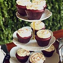 红丝绒cupcake