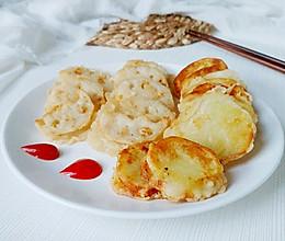 土豆夹藕藕夹肉的做法