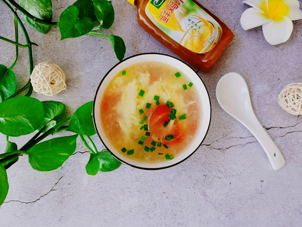 西红柿蛋花汤的做法