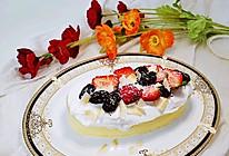 #换着花样吃早餐#低脂酸奶蛋糕的做法