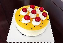 百香果芒果流心慕斯蛋糕的做法