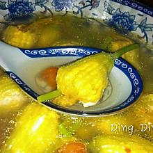 酿南瓜花汤
