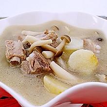 菌菇山药排骨汤