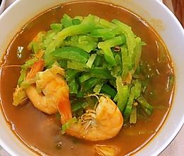大虾炖萝卜丝的做法