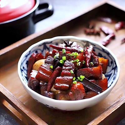 砂锅炖红烧肉