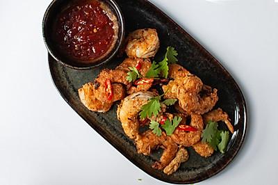 泰式香酥炸虾--泰国菜系