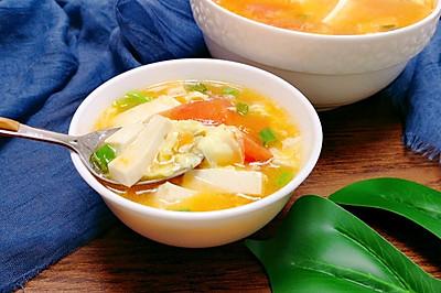 豆腐番茄浓汤