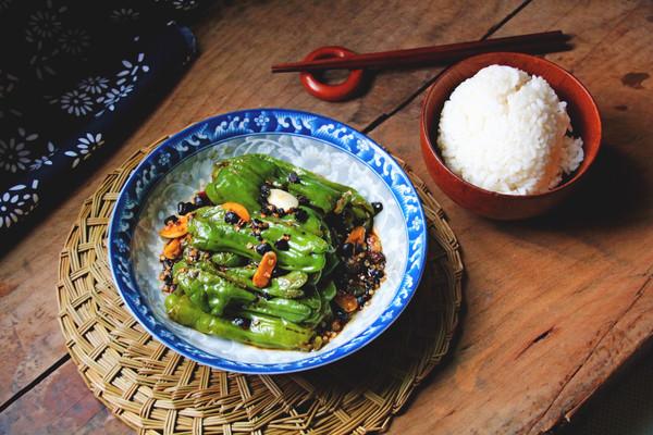 虎皮青椒#厨此之外,锦享美味#的做法